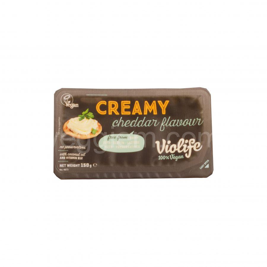 Сыр-крем чеддер Violife, 150 грамм
