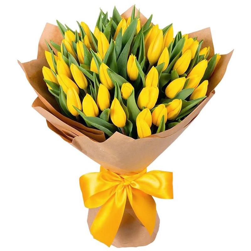 51 тюльпан (желтый)