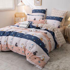 Комплект постельного белья Люкс-Сатин A237