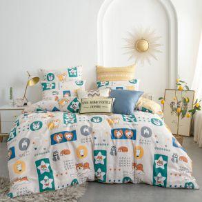 Комплект постельного белья Люкс-Сатин A179