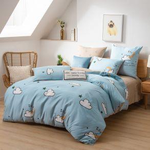 Комплект постельного белья Люкс-Сатин A182