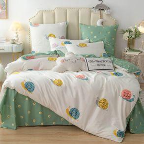 Комплект постельного белья Люкс-Сатин A175