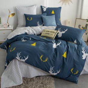 Комплект постельного белья Люкс-Сатин A189