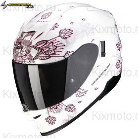 Шлем Scorpion EXO-520 Air Tina, Белый перламутровый