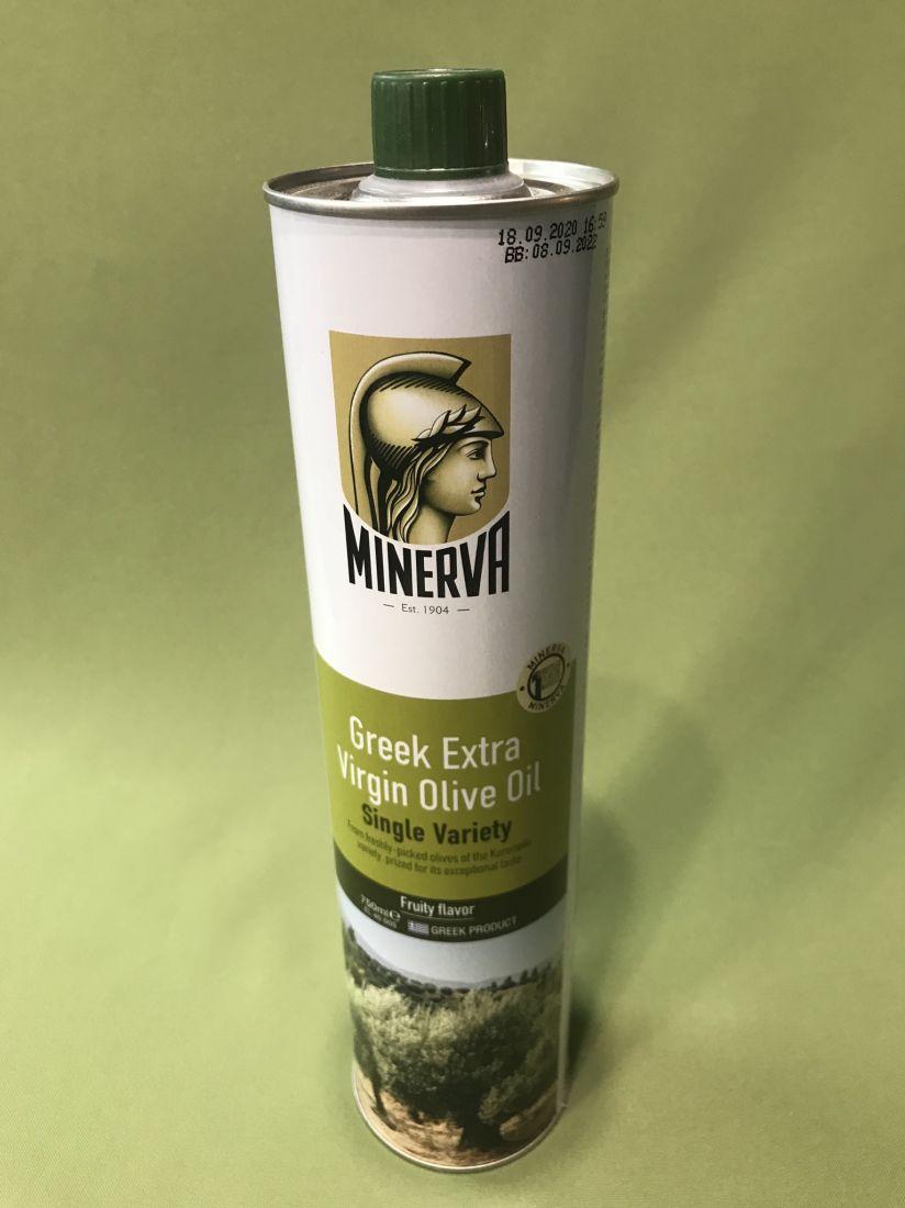 Оливковое масло Minerva - 750 мл экстра вирджин