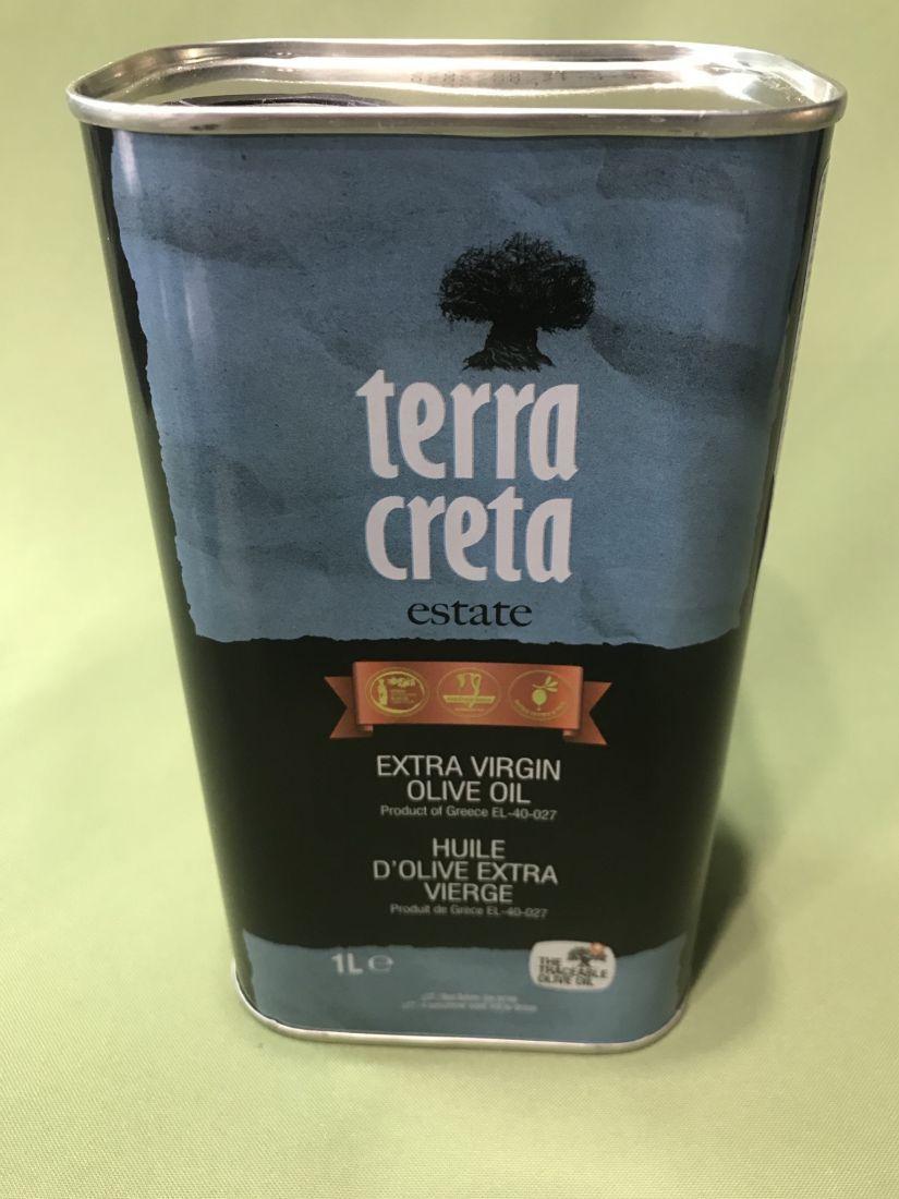 Оливковое масло Terra Creta - 500 мл экстра вирджин жесть