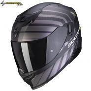 Шлем Scorpion EXO-520 Air Shade, Черный матовый с желтым