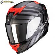 Шлем Scorpion EXO-520 Air Shade, Черно-красный