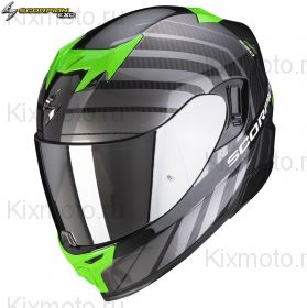 Шлем Scorpion EXO-520 Air Shade, Черно-зеленый