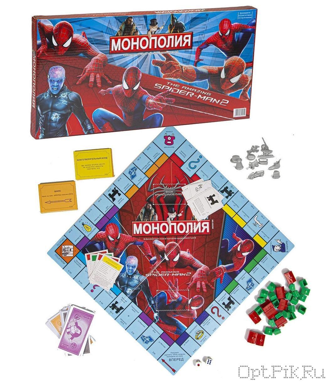 Монополия Человек паук 2