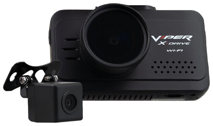VIPER X Drive DUO Wi-FI (2 камеры) наружная Видеорегистратор