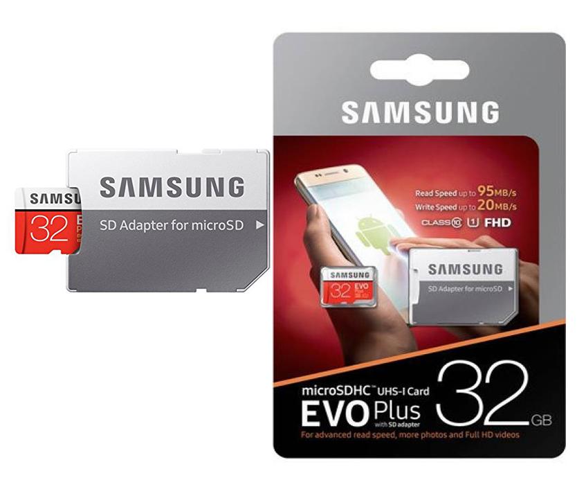 Флеш карта Micro 32GB Samsung Class 10+адаптер