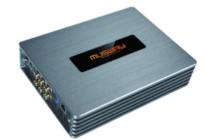 Musway M4+ 4 канальный усилитель со встроенным 8 канальным DSP 4х100Вт.