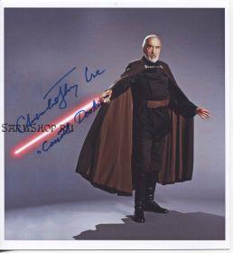 Автограф: Кристофер Ли. Звёздные войны. Редкость