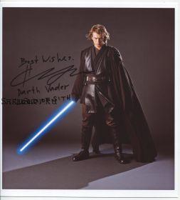 Автограф: Хейден Кристенсен. Звёздные войны: Эпизод 3 — Месть Ситхов