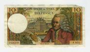 Франция 10 франков 1973 Вольтер 14029