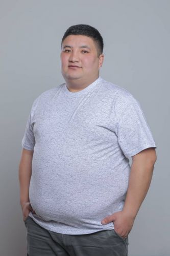 "Футболка мужская ""Crop"" Богатырь 58-64 King size"