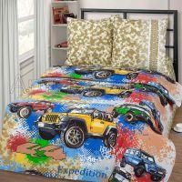 «Джиппинг» постельное белье бязь 1.5 спальный
