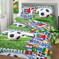 «Спорт» постельное белье бязь 1.5 спальный