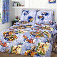 «Супергерои» постельное белье бязь 1.5 спальный