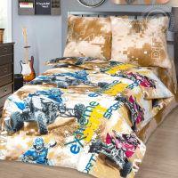 «Техно» постельное белье бязь 1.5 спальный