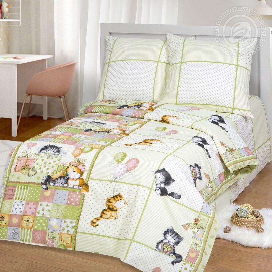 «Шалунишки» постельное белье бязь 1.5 спальный