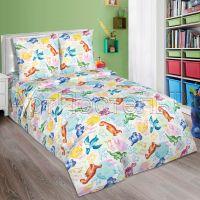 «Динозаврики» постельное белье поплин 1.5 спальный