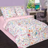 «Модные штучки» постельное белье поплин 1.5 спальный