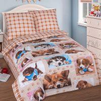 «Тотошка» постельное белье поплин 1.5 спальный