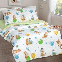 «Барсик» постельное белье поплин 1.5 спальный