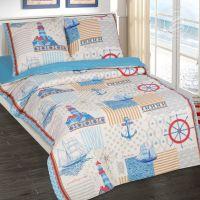 «Капитан» постельное белье поплин 1.5 спальный