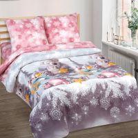 «Ласковый мишка» постельное белье поплин 1.5 спальный