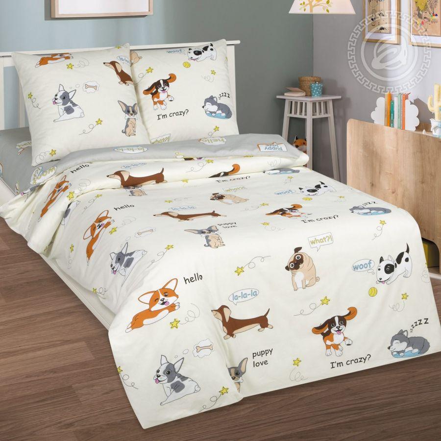 «Люси» постельное белье поплин 1.5 спальный