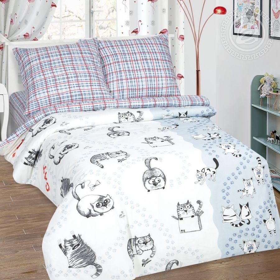 «Мейсон» постельное белье поплин 1.5 спальный