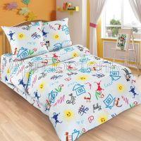 «Переменка» постельное белье поплин 1.5 спальный