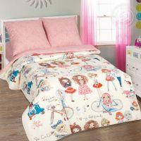 «Стиляги» постельное белье поплин 1.5 спальный