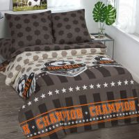 «Чемпион» постельное белье поплин 1.5 спальный