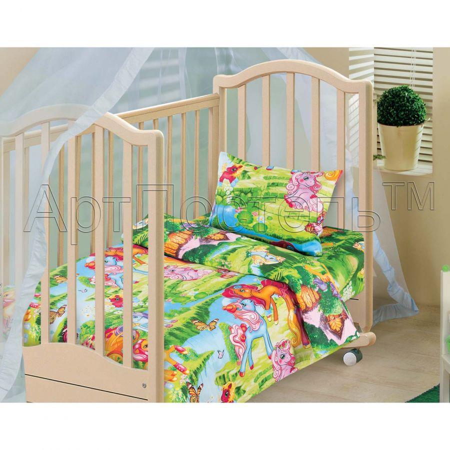 «Волшебные сны» ясельное постельное белье бязь Детский