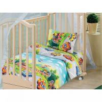«Детский парк» ясельное постельное белье бязь Детский