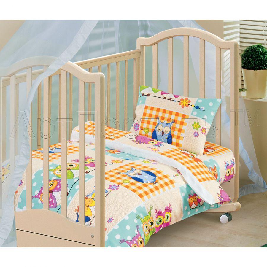 «Соня» ясельное постельное белье бязь Детский