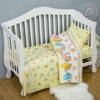 «Карамельки» ясельное постельное белье поплин Детский