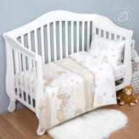 «Медвежата» ясельное постельное белье поплин Детский