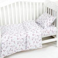 «Друзья» ясельное постельное белье трикотаж Детский