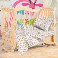 «Мишутка» ясельное постельное белье трикотаж Детский