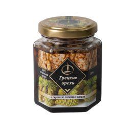 Грецкий орех в сиропе из сосновых шишек 200 гр