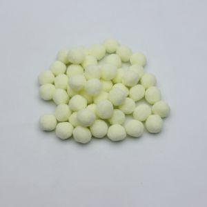Помпоны, размер 25 мм, цвет 10 кремовый (1уп = 50шт)
