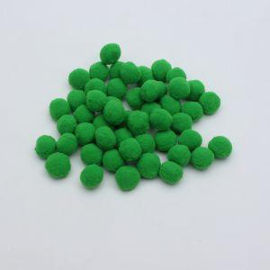 Помпоны, размер 25 мм, цвет 12 зеленый (1уп = 50шт)