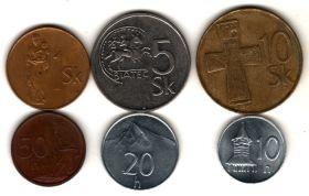 Словакия набор 1993-2002