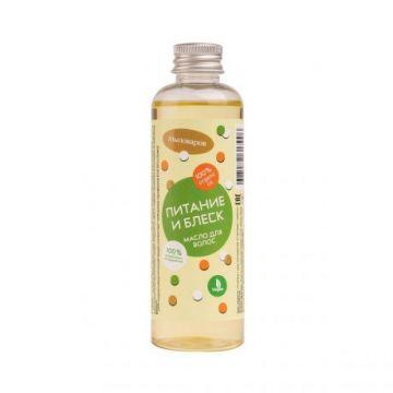 Мыловаров - Масло для волос Питание и блеск, 100 мл