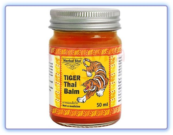 Herbal Star Tiger Thai Balm